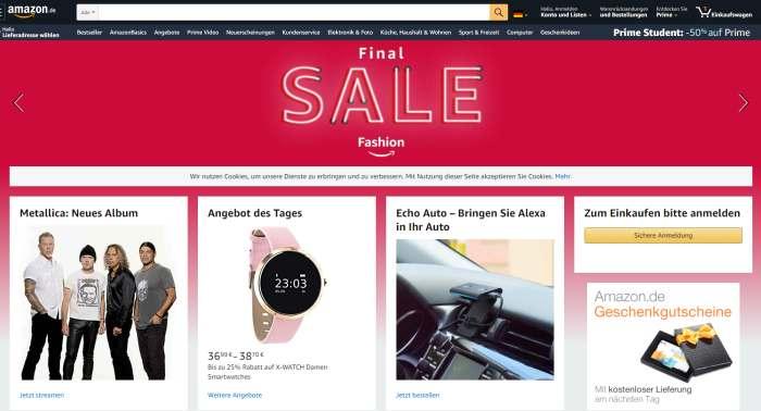Amazon Online-Marktplatz
