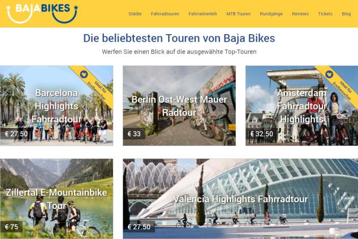 Baja Bikes Radtouren