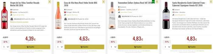 Belvini Wein SALE