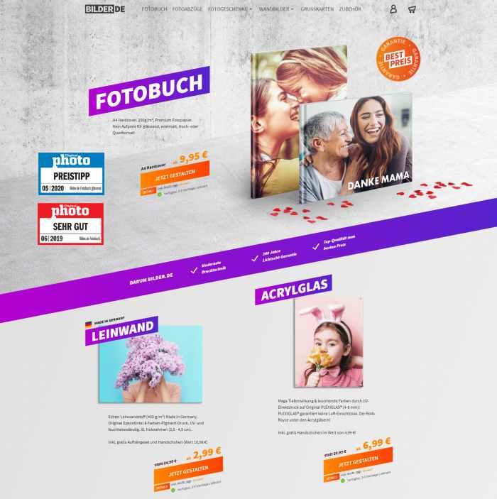 Bilder.de Onlineshop