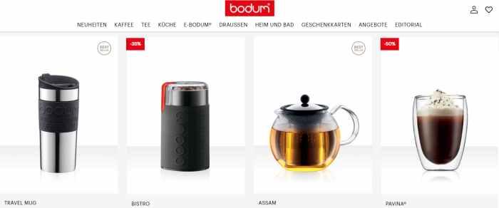 BODUM® - Produkte für jede Küche