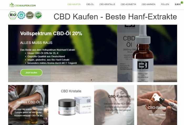 CBD Kaufen Onlineshop
