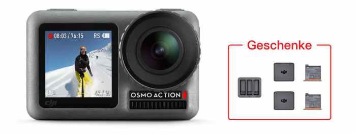 DJI Osmo Action + Gratis Geschenk