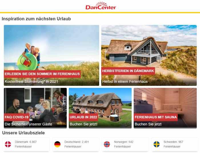 DanCenter Ferienhaus