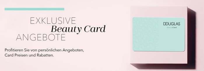 Douglas Beauty-Card Vorteile