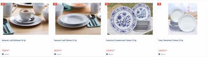 Eschenbach Porzellan Angebote & Aktionen