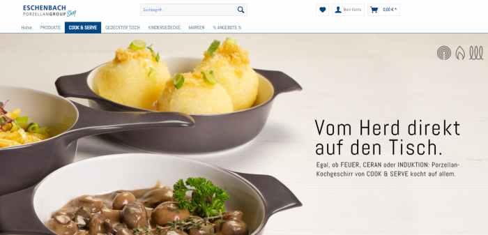 Eschenbach Porzellan Onlineshop