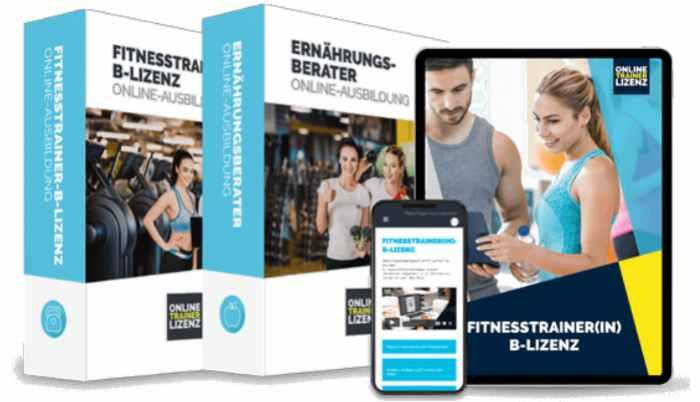 Fitnesstrainer B-Lizenz Paket Gutschein