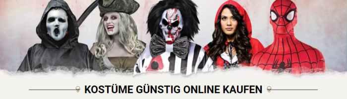 Kostüme günstig online kaufen