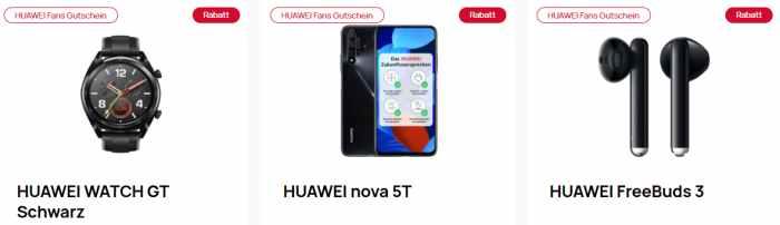 Huawei Fans Gutschein