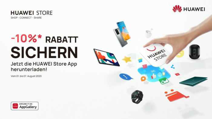 Huawei Store App Rabatt