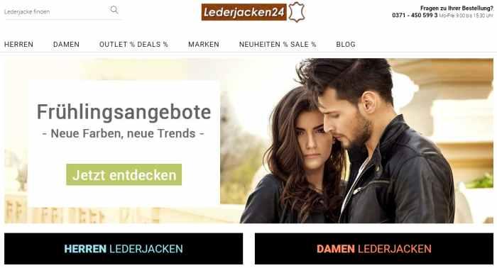 Lederjacken24 - Lederjacke Damen & Herren