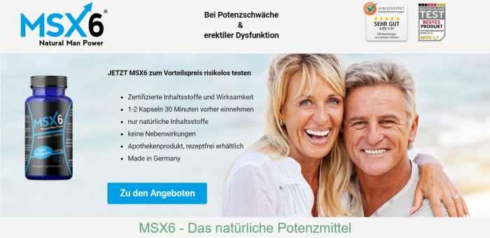 MSX6 - Potenzmittel
