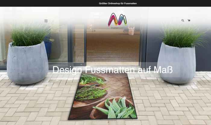 Mattenwelt - Größter Online Shop für Fussmatten