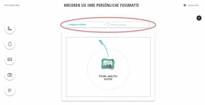 Personalisierte Fußmatte - Exclusiver Rabatt