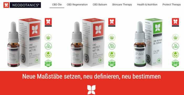 Neobotanics CBD & Hanf Produkte