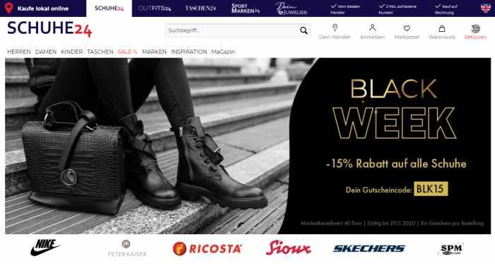 Schuhe24 Angebote