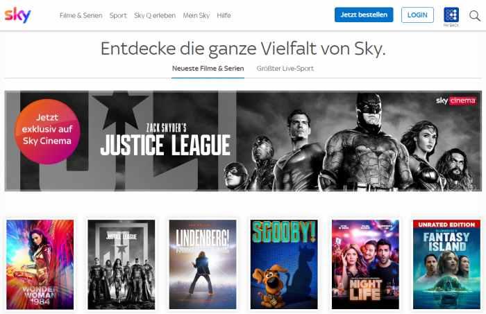 Sky Filme & Serien