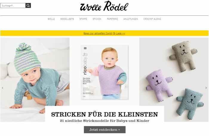 Wolle Rödel Online-Shop
