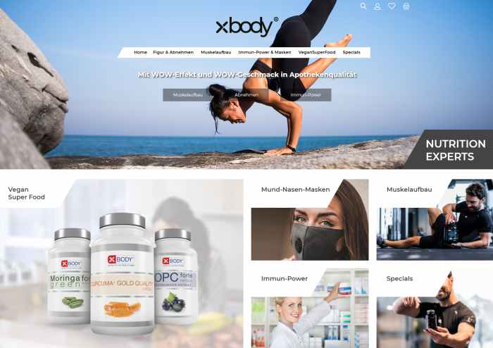 XBODY Shop