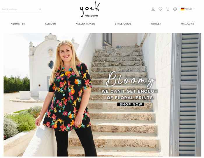 Yoek Mode in großen Größen