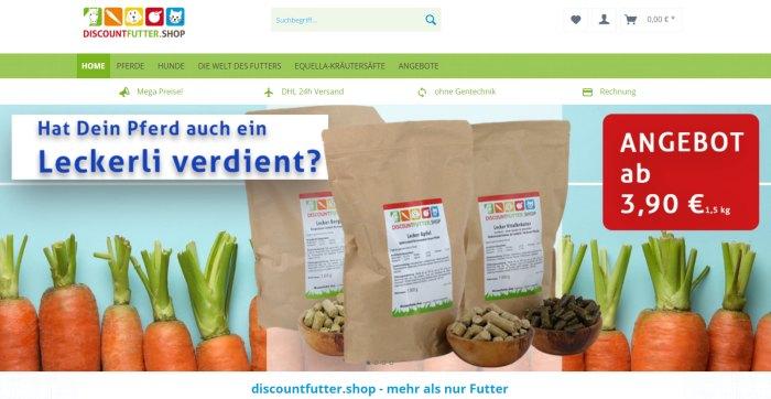 Discountfutter Online-Shop