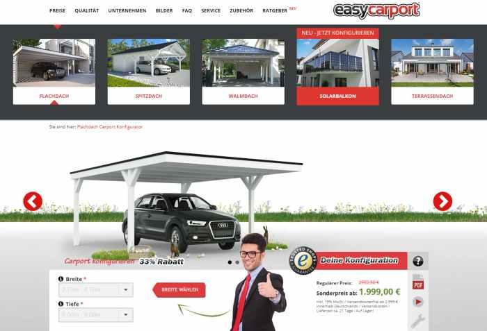 easycarport Carport Bausatz kaufen