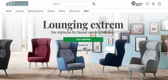 stilbasis Designermöbel Online-Shop
