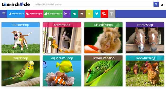 tiierisch Tierbedarf online günstig kaufen