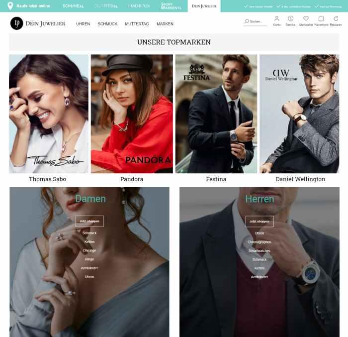 Dein-Juwelier Onlineshop