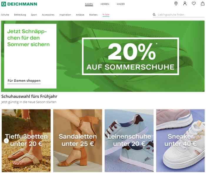 Deichmann Schuhmode