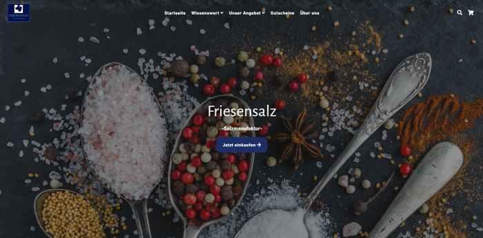 Friesensalz Onlineshop