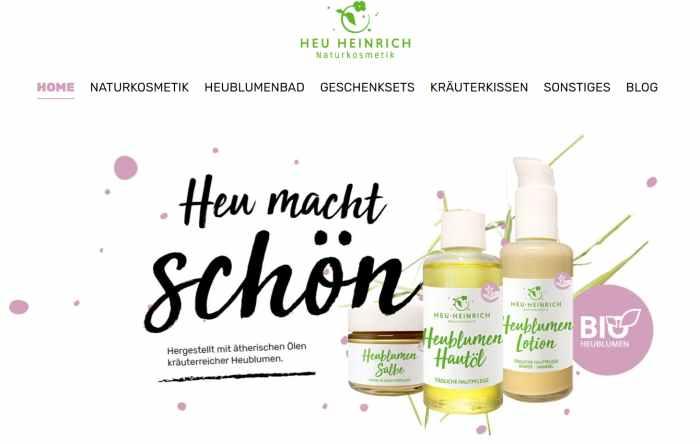 Heu Heinrich Kosmetik-Shop