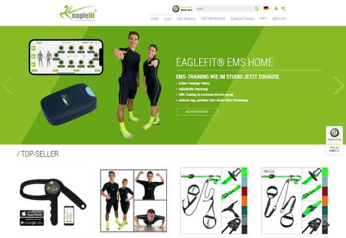 eaglefit EMS-Training für Zuhause