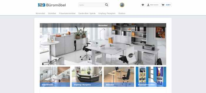 123 Büromöbel - Büromöbel & Büroausstattung Online kaufen