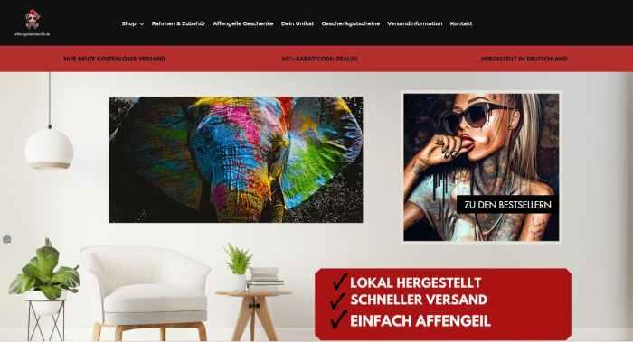 Affengeilebilder24 - Kunst Bilder