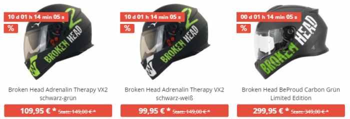 Broken Head Angebote
