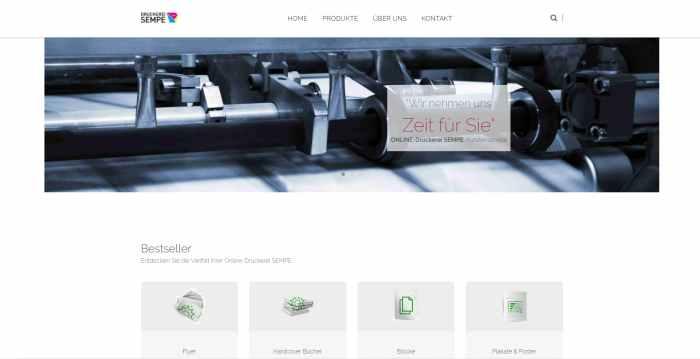 Druckerei Sempe - Druckdienste seit über 20 Jahren
