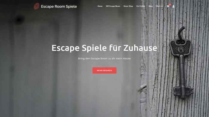 Escape Room Spiele - Bring den Escape Room zu dir nach Hause