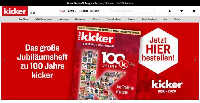 Kicker - mehr als nur Fußball
