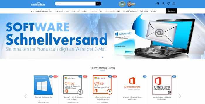 Lizenzexpress - Software günstig Online kaufen