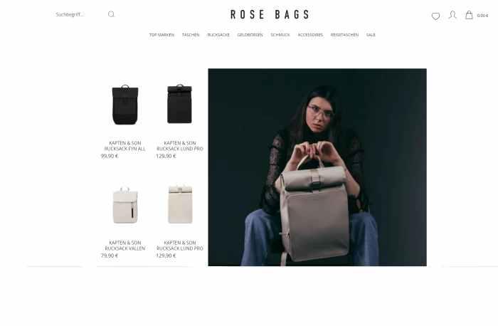 Rose Bags - Taschen & Schmuck für Männer & Frauen