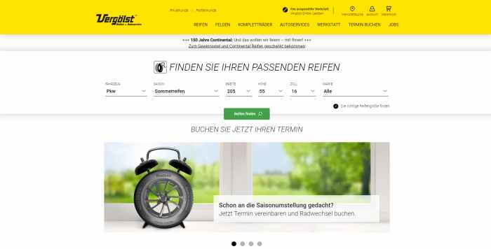 Vergölst - Reifen & Autoservice Experte