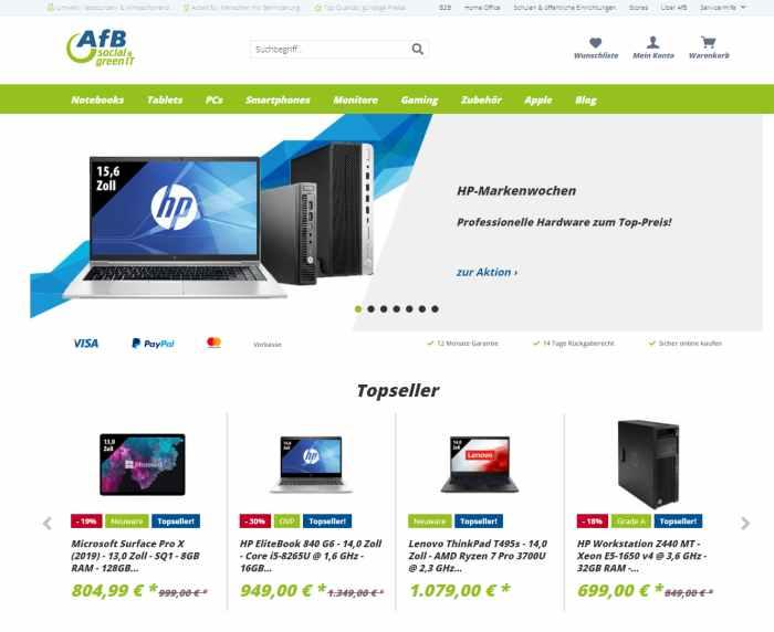 AfB Shop - Elektronik Onlineshop