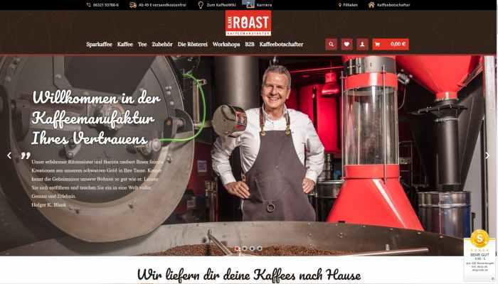 Blank Roast - Kaffee Rösterei