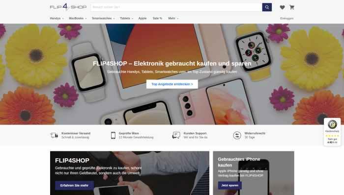 Flip4Shop - gebrauchte Elektronik