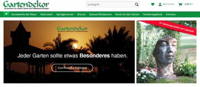 Gartendekor Lippstadt Gartenfiguren