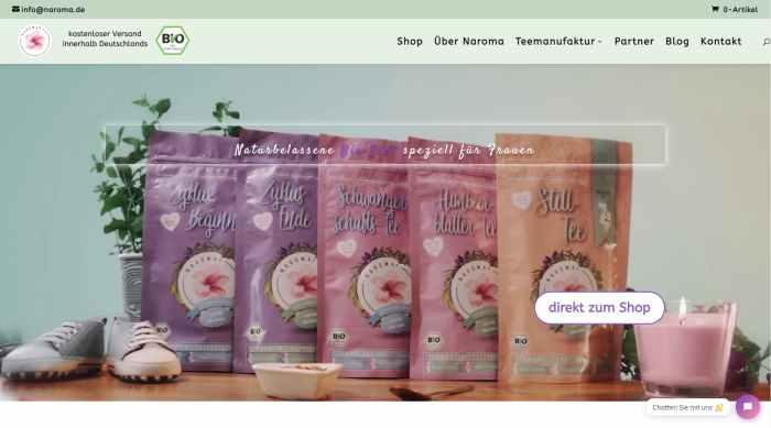 Naroma - Still - und Schwangerschaftstee Online kaufen
