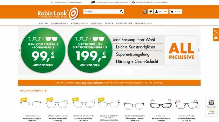 Robin Look - Online Optiker