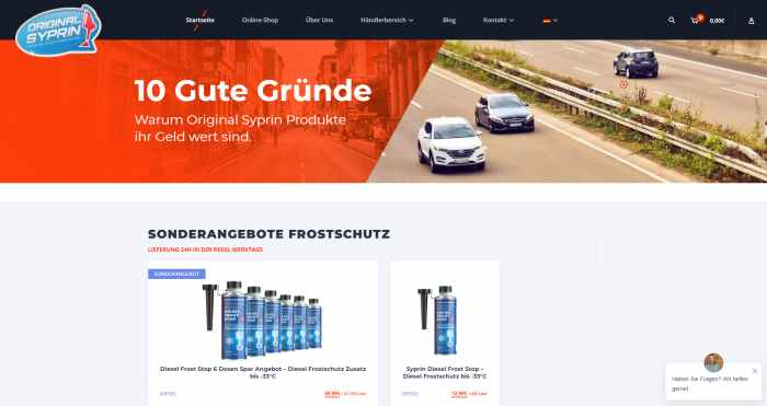 Syprin - Benzin & Diesel Reiniger